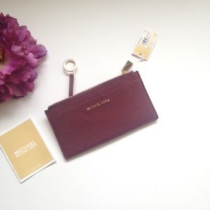 Micheal Kors Large Leather Card Case